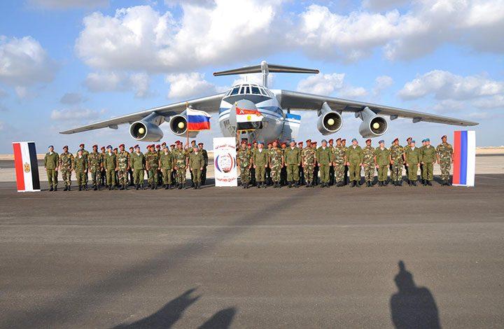 موسكو ستتولى تدريب قوات مصرية جنوب البلاد قريبا