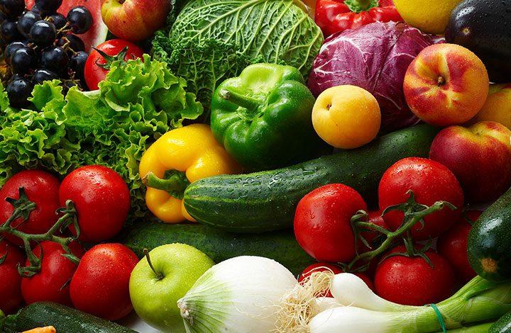 احرص على تناول الخضروات مع اللحوم