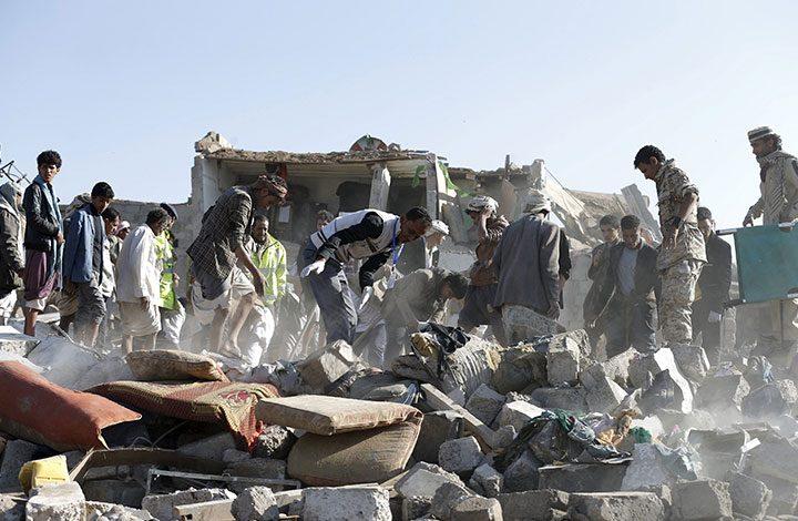 السعودية تعترف بمسؤوليتها عن قتل 14 مدنيا في قصف جوي باليمن