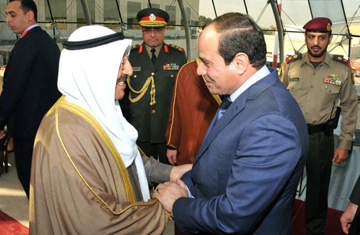 السيسي يصدر قرارا جمهوريا بمعاملة أمير الكويت كالمصريين