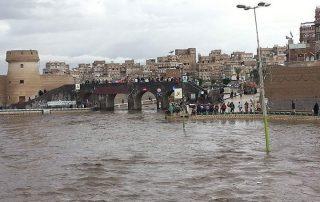 اضرار السيول في اليمن