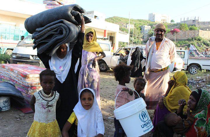 منظمة الصحة العالمية: نحو مليوني نازح يمني يخشون العودة إلى منازلهم