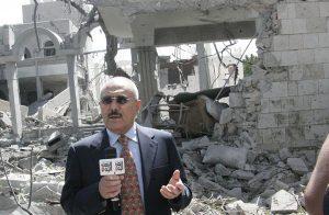 """صالح يصف الحوثي بـ """"الميليشيا"""" والجماعة تتهمه بتلقي رشاوى من السعودية"""