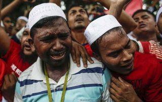 ارتفاع عدد ضحايا مسلمي الروهينجيا إلى 90 شهيدا