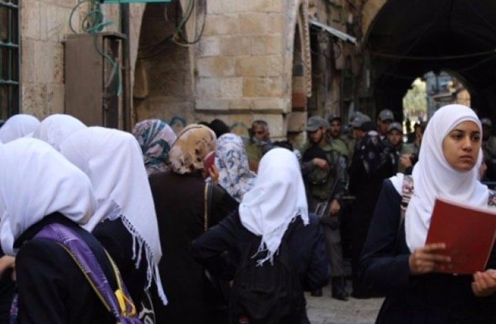 إسرائيل تفصل عددا من المدرسين الفلسطينيين بالقدس المحتلة
