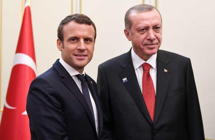 اردوغان-و-ماكرون