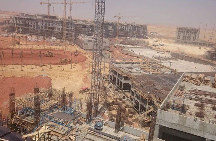 على غرار الاحتلال.. جدار عازل يحاوط العاصمة الإدارية الجديدة من جميع الجهات