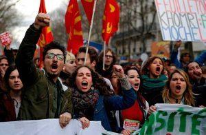 فرنسا-مظاهرات