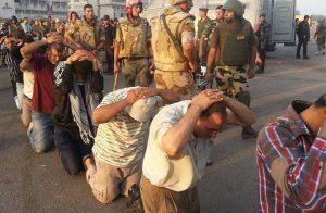 انتهاكات الجيش المصري