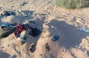 جثامين مصريين في صحراء ليبيا