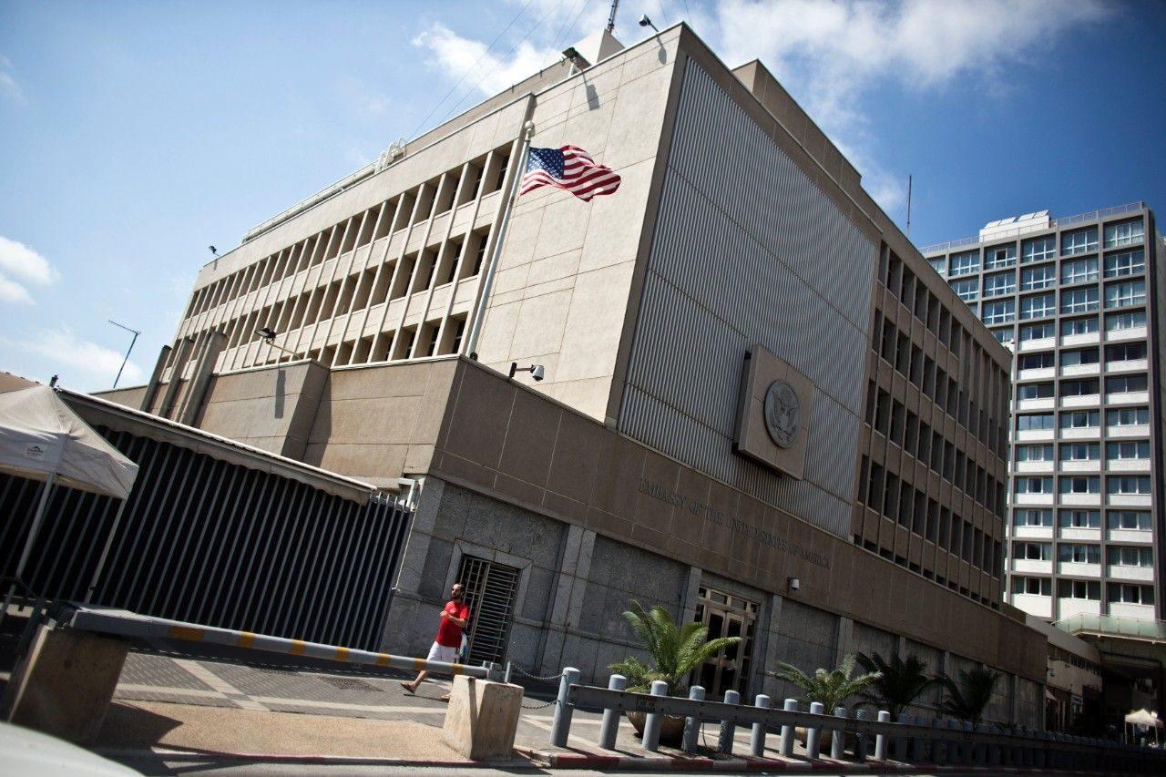 السفارة الامريكية بالكيان الصهيوني