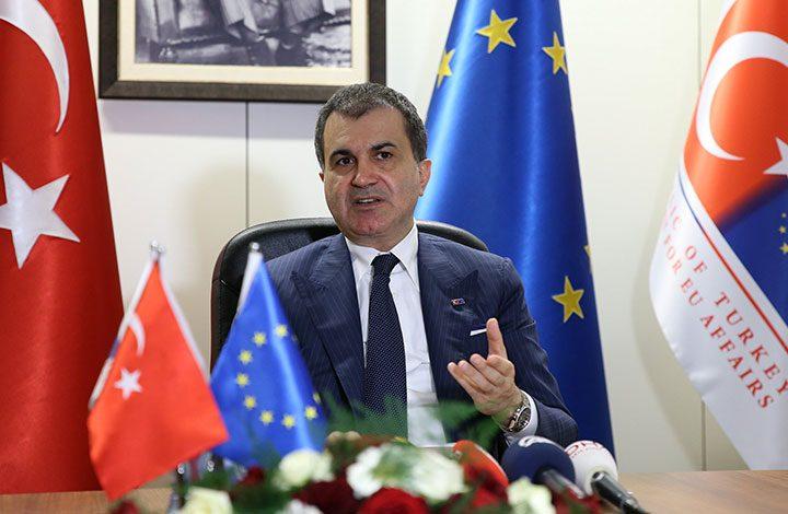 وزير تركي يتهم ألمانيا باستغلال الاتحاد الأوروبي في خلافها مع أنقرة