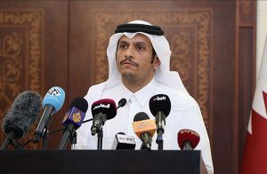 وزير خارجية قطر يبحث مع نظيرة العراقي تطورات الأزمة الخليجية