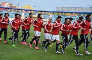 المنتخب المصري يخوض تدريبه الأخير استعدادًا لأوغندا