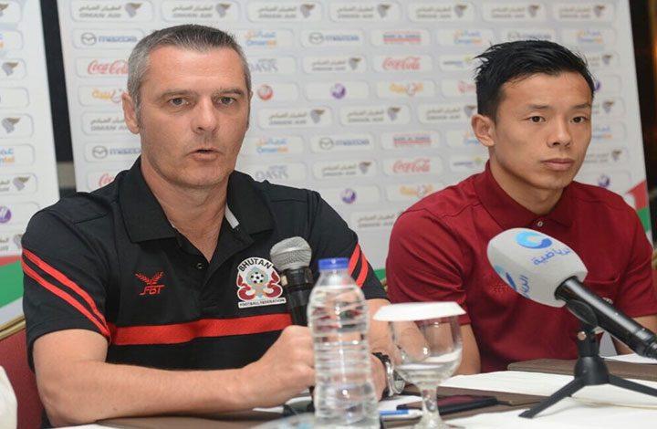 """مدرب منتخب بوتان: """"من الصعوبة مواجهة منتخب فلسطين"""""""
