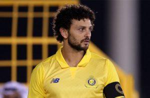 في اول ظهور له مع النصر ... حسام غالي اكثر من لمس الكرة