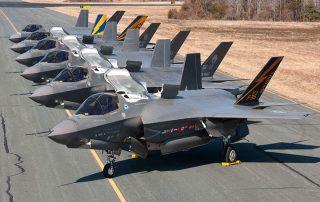 أمريكا ترسل4 طائرات مقاتلة وقاذفتي قنابل إلى كوريا الجنوبية