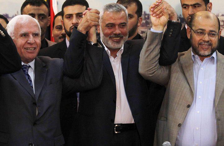 اجتماع قريب في القاهرة بين قيادات حماس وفتح لوضع أسس اتفاق المصالحة