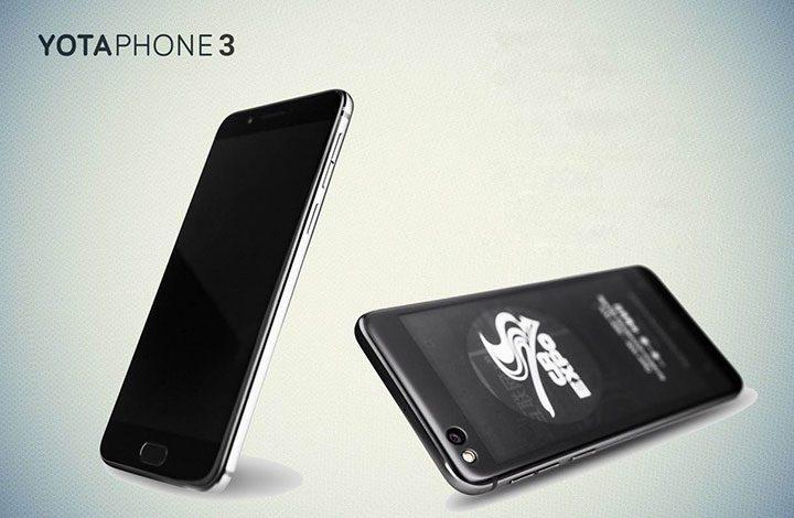 شركة Yota تعلن عن هاتف جديد يعمل بالحبر الإلكترونى