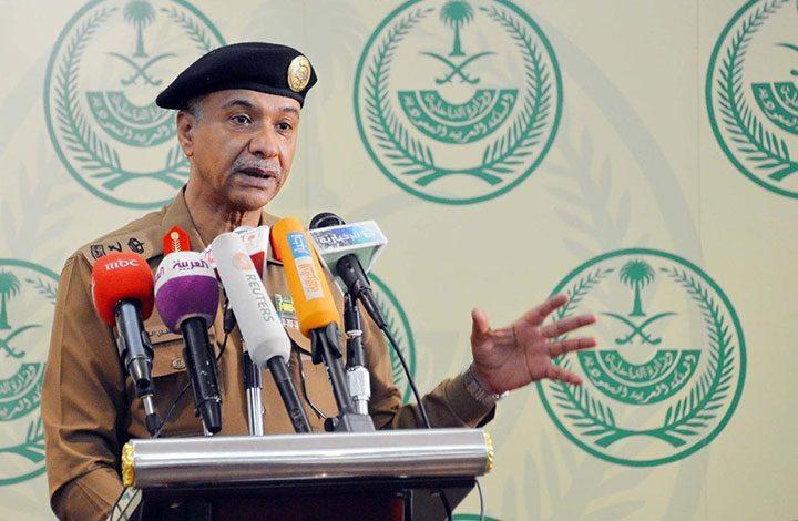 الداخلية السعودية: 150 ألف جريمة ارتكبت العام الماضي 53٪ منها اعتداء على النفس