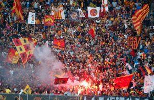 الأمن التونسى يقرر حضور 45 ألف مشجع لمباراة الترجي والأهلي