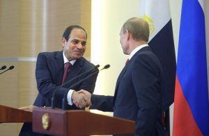 السيسي يدعو بوتين للتوقيع على مشروع الضبعة النووي