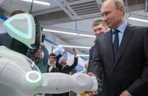 بوتين: متى ستأكل الروبوتات الناس ؟