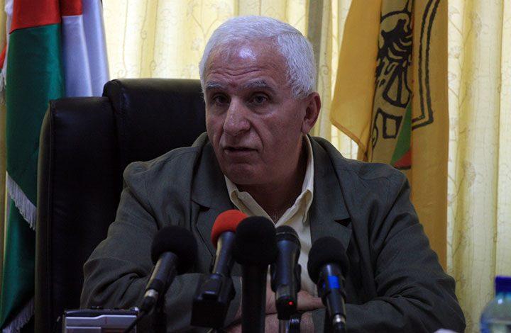 «عزام الأحمد»: سنوقف الإجراءات العقابية ضد غزة فور تسلمها