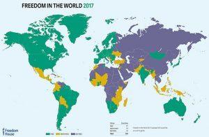 فريدوم هاوس: الإمارات غير حرة في الإنترنت والحقوق السياسية والحريات