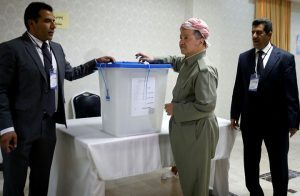رسميا .. تصويت 92 % بنعم للانفصال في استفتاء إقليم كردستان