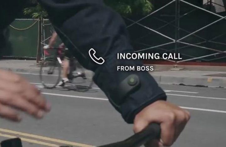 """جوجل تتعاون مع شركة ملابس لإنتاج """"جاكت ذكي"""" يتحكم في هاتفك"""