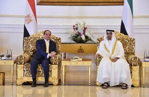 السيسي يطير لـ«أبوظبي» للمرة الأولى منذ اندلاع الأزمة الخليجية.. وتكتكم عن أسباب الزيارة