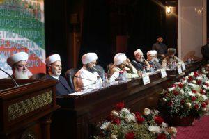 منصة مؤتمر أهل السنة والجماعة في العاصمة الشيشانية جروزني