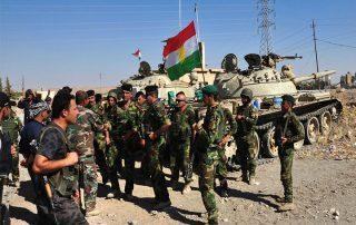 """نشر """"البشمركة"""" في كركوك تحسبا لعمليات عسكرية للقوات العراقية"""