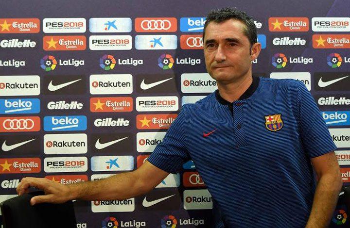 مدرب برشلونة: التعادل فى ملعب أتلتيكو مدريد أمر جيد