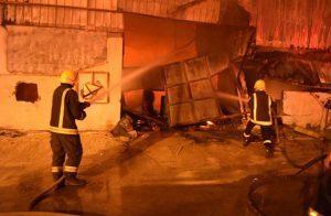 السعودية.. وفاة 10 أشخاص في حريق اندلع بورشة نجارة بالرياض