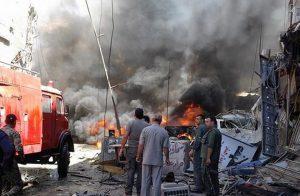 تلفزيون بشار: قتلى في تفجير بقسم شرطة للنظام وسط دمشق