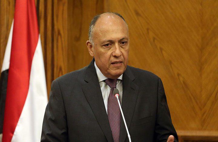 «سامح شكري»: ألتمس العذر لصاحب هتاف «تسقط قطر»