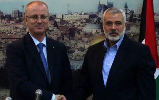 استقبال رسمي وشعبي لـ«الحمد الله» في غزة.. و«حكومة الوفاق» تتسلم مهامها غدا