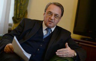 مسؤل روسي يلتقي سفيري السعودية وقطر