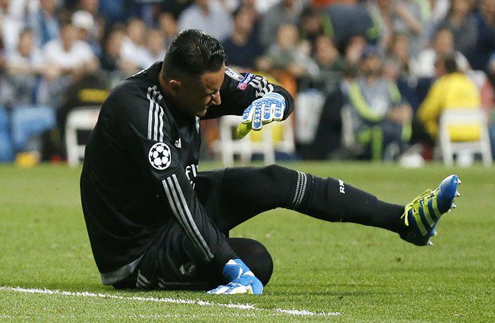 ريال مدريد يعلن عن إصابة الحارس نافاس وغيابه عن مباراة إيبار