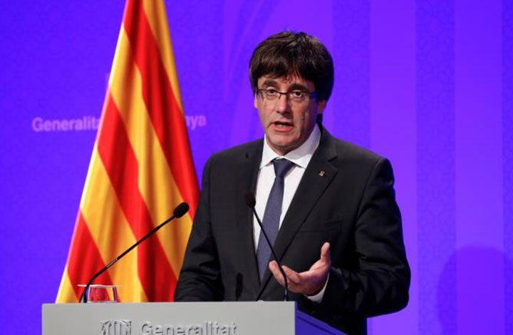 رئيس حكومة كتالونيا: سنعلن الاستقلال عن إسبانيا في غضون أيام