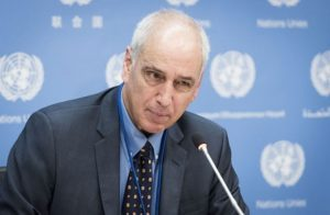مقرر أممي يطالب العالم باعتبار الاحتلال الإسرائيلي لفلسطين عملية غير شرعية