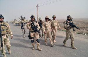 """القوات العراقية تستعيد مناطق من """"داعش"""" غرب الأنبار"""