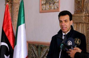 سفير إيطاليا في ليبيا: جميع الأطراف الليبية تسعى للوفاق نظرًا لمعاناة المواطنين هناك