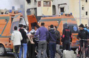 قذيفة مدفعية أطلقها الجيش المصري