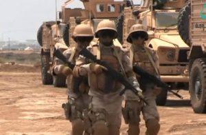 قوات التحالف العربي تقصف مبنى وزارة الدفاع في صنعاء