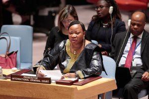 فاتو بنسودا - مدعية الجنائية الدولية