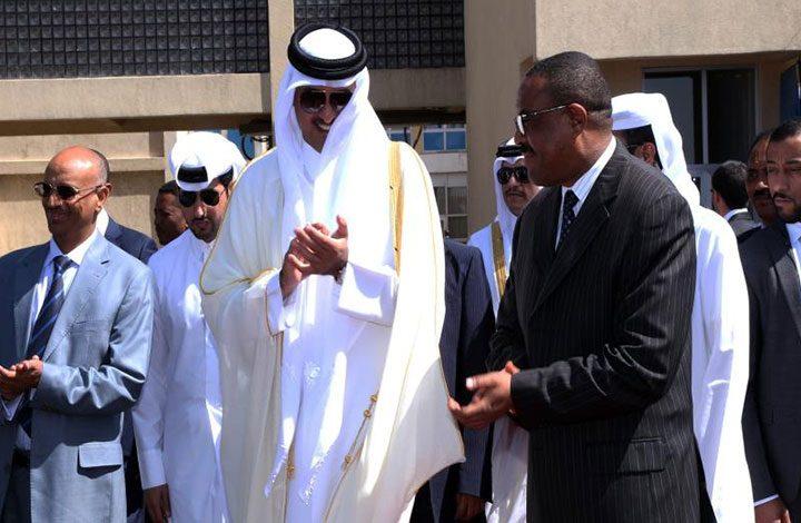 قطر توقع 3 اتفاقيات مع إثيوبيا أبرزها حول التعاون الدفاعي
