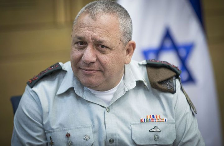 """موقع """"إيلاف"""" السعودي يجري مقابلة مع رئيس الأركان الإسرائيلي"""